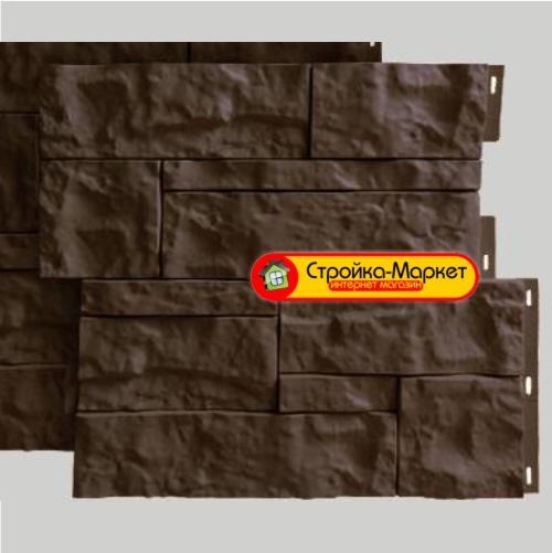 Фасадні панелі Wildstone, коричневий