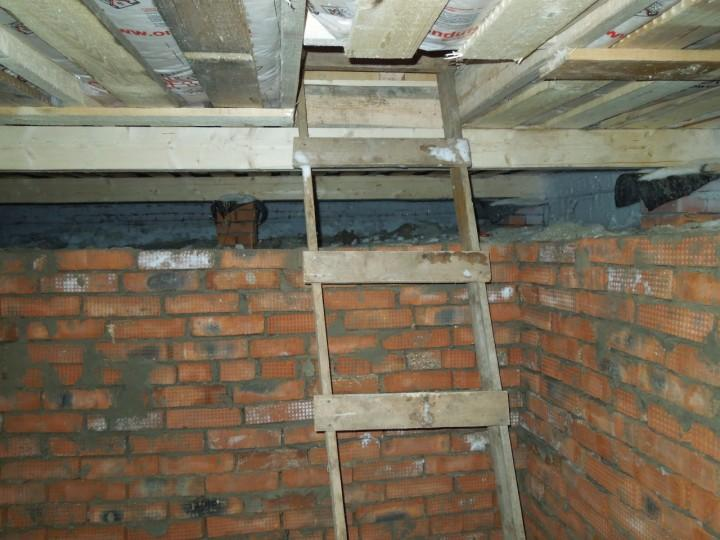 Утеплення підлоги підвалу в дерев'яному будинку