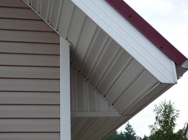 Софіти для покрівлі «VOX» — підшивка даху своїми руками