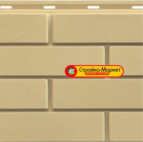 37647 Фасадні панелі SteinDorf — Цегла, світло-бежевий
