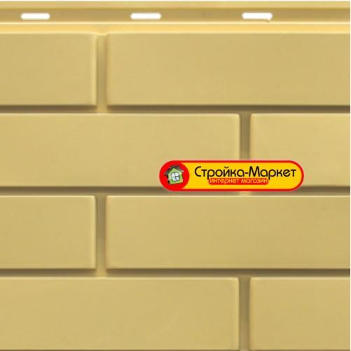 Фасадні панелі SteinDorf — Цегла, жовтий