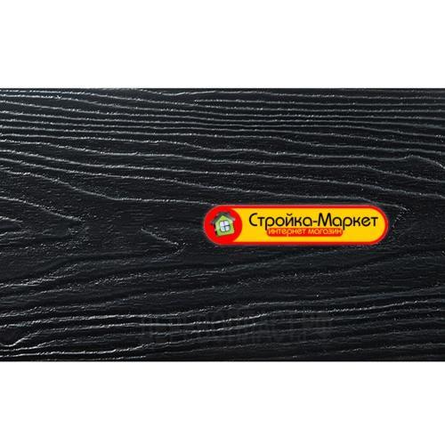 41795 Двошарова дошка з ДПК з полімерним покриттям — Чорний Алмаз