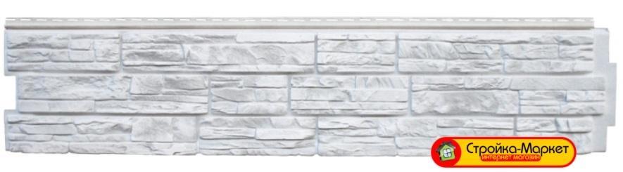 Фасадные панели Grand Line Я-фасад, Крымский сланец — Серебро