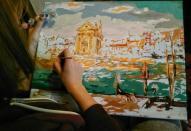 Хобі – малювання картин за номерами