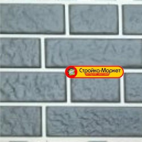 44438 Фасадная панель Tecos German brick collection — Кирпич дрезденский