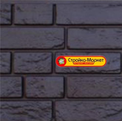 45471 Фасадна панель GL «Я-Фасад» Демидівський цегла — вугілля