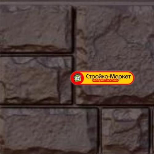 45372 Фасадная панель GL «Я-Фасад» Екатерининский камень — арабика
