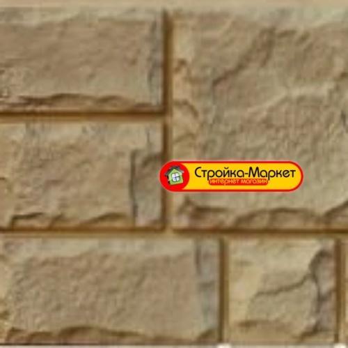 45405 Фасадная панель GL «Я-Фасад» Екатерининский камень — песок