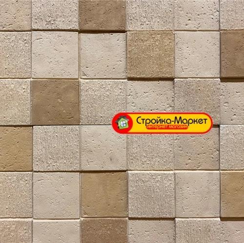 45665 Вентилируемый фасад — плитка Каньон (3D мозаика) — 68