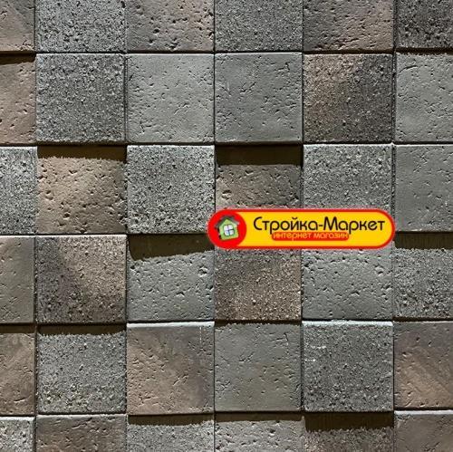 45632 Вентильований фасад — плитка Каньйон (3D мозаїка) — 45