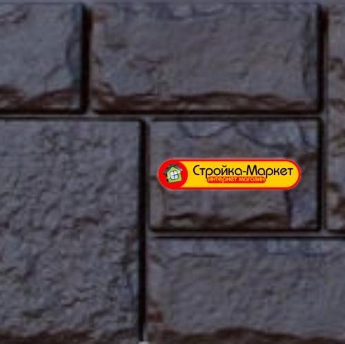 45789 Фасадна панель GL «Я-Фасад» Катерининський камінь — вугілля