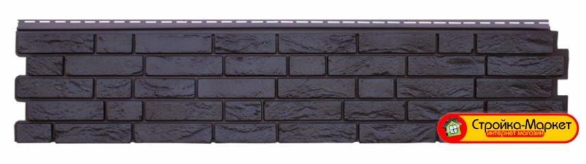 Фасадная панель GL «Я-Фасад» Демидовский кирпич - уголь