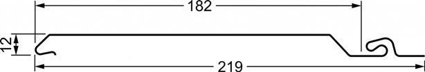 Вініловий сайдинг Grand Line Natural-Брус 3,0 S7 — Tundra Граб