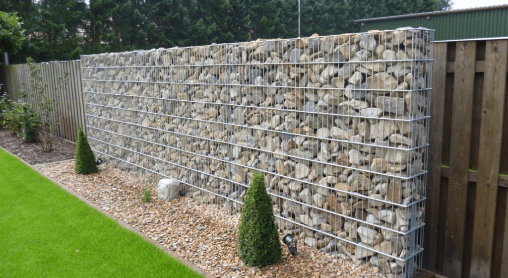 47822 «Камені в клітці» в ландшафтному дизайні
