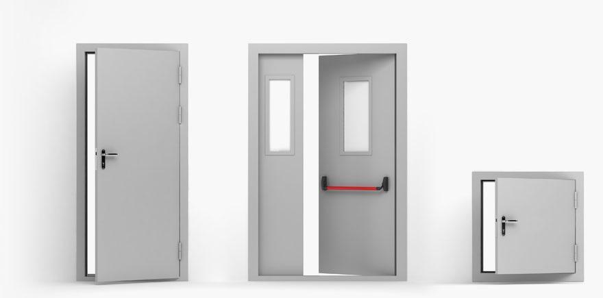 48110 Особливості протипожежних дверей