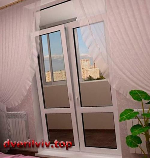 48230 Види балконних дверей і догляд за ними