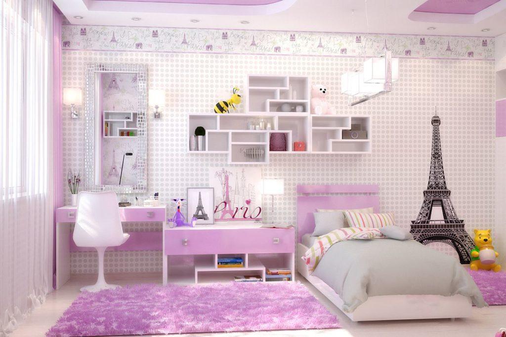 48598 Як креативно оформити кімнату для дівчинки-підлітка
