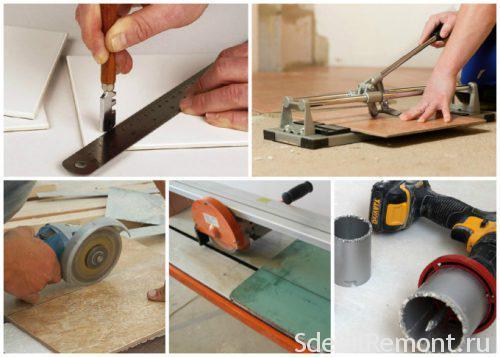 47202 Як розрізати плитку з кераміки на дому, не використовуючи плиткоріз