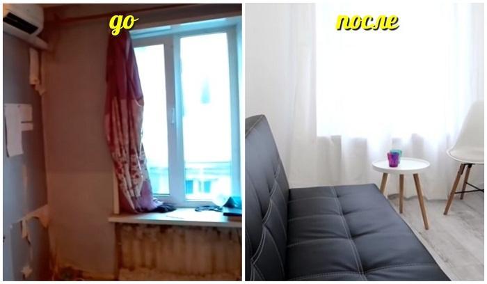 Новая жизнь квартиры 13 кв. м.