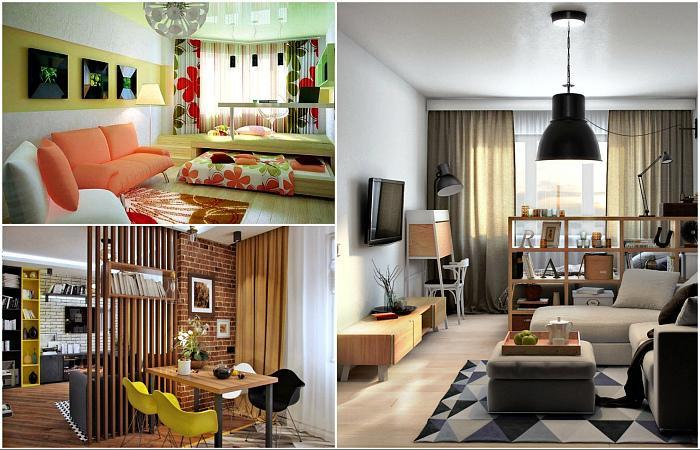 49387 Гениальных идеи стильного и функционального обустройства небольшой однокомнатной квартиры
