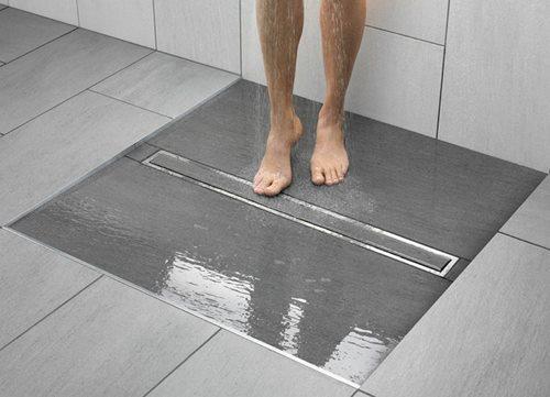 48785 Як зробити душову зі зливом в підлозі