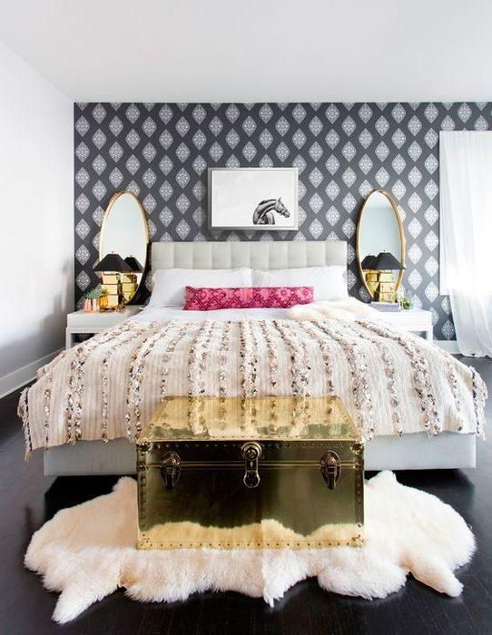 Советы для тех, кто планирует ремонт: выбираем обои для спальни