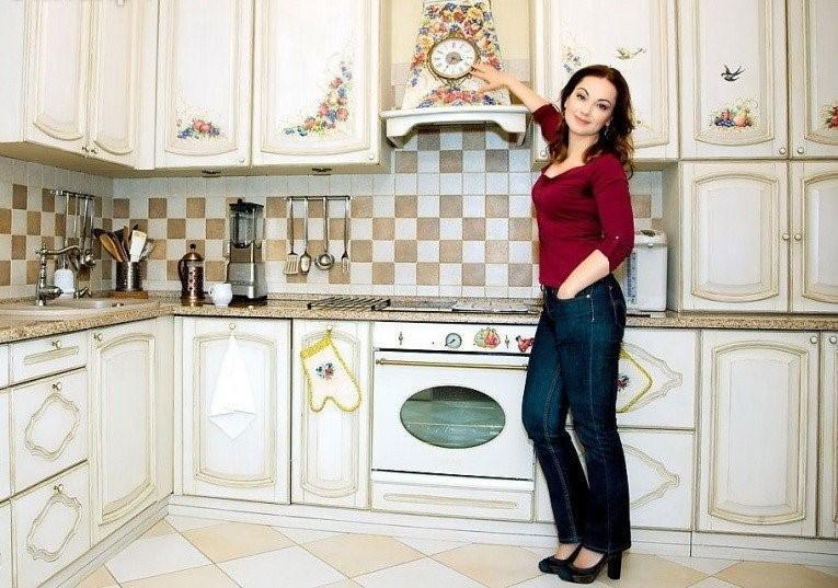 Актриса Ольга Будина и ее новые апартаменты