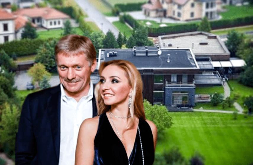Где живут Татьяна Навка и Дмитрий Песков