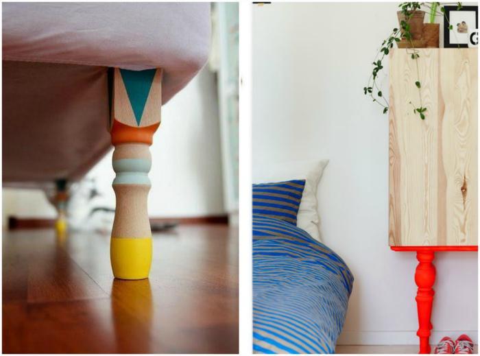 Как оживить интерьер при помощи краски