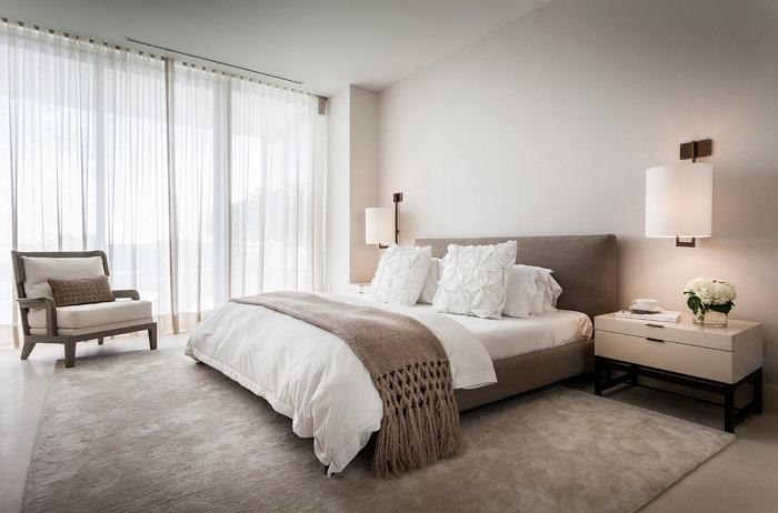20 вдохновляющих примеров дизайна интерьера спальни в светлых тонах, которые преобразят любую комнату