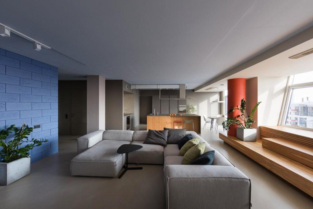 50525 Большая современная квартира для молодой семьи