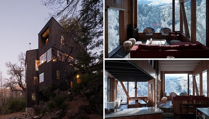 50812 Дизайнерское жилье с видом на вулкан