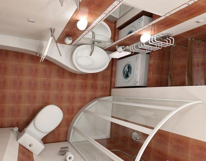 50750 Как разместить все необходимое в маленькой ванной: 7 полезных советов и дизайнерских хитростей