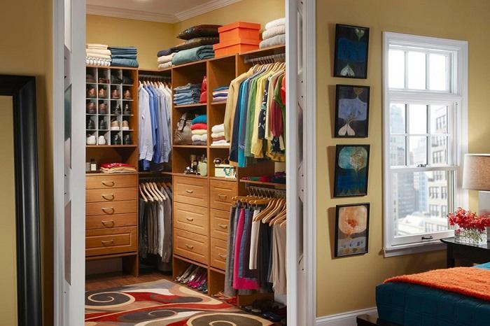 50332 Как создать гардеробную в маленькой квартире, почти не жертвуя квадратными метрами