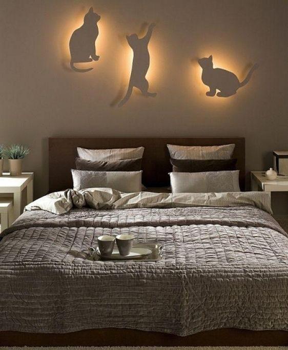 49763 Необычные светильники для спальни