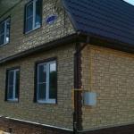 49885 Фасадная плитка Каньон — вентилируемый фасад «Аризона» кирпич — K80