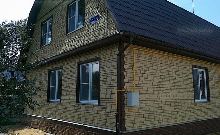 49885 Выбор облицовочных панелей для отделки фасада своего дома