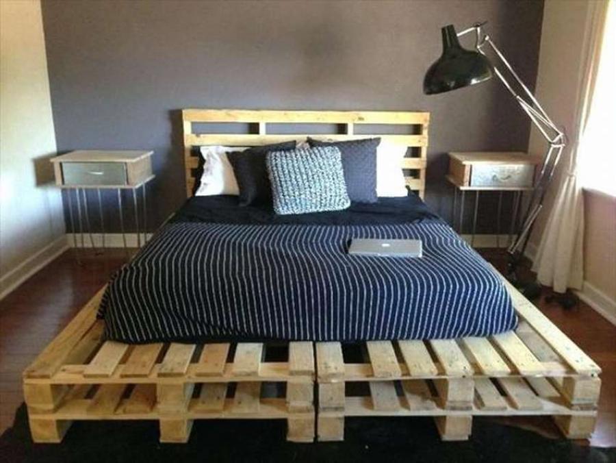 51140 Кровать из поддонов своими руками: недорого, но очень стильно