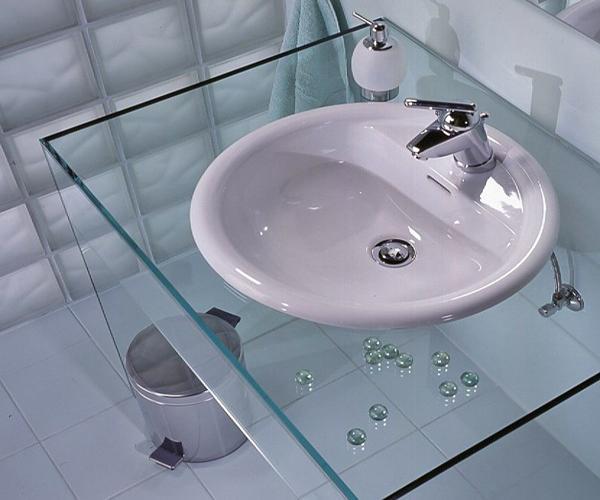 51681 Накладная раковина для ванной комнаты: практичное устройство и эффектный элемент стильного интерьера