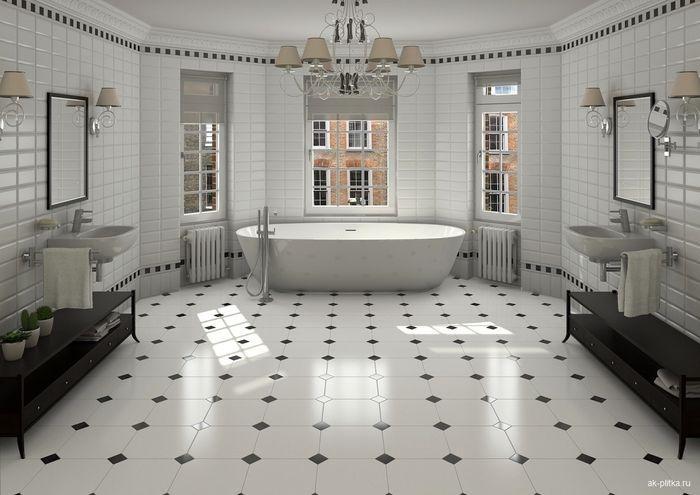 Как оригинально оформить ванную комнату