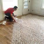 51559 Расписные деревянные полы