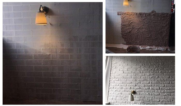 51994 Декорирование стены под кирпич