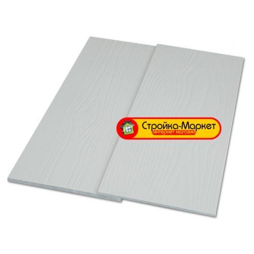 Фиброцементный сайдинг CM Bord (СМ Борд) 3000х190 мм — светло-серый