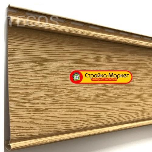 53260 Сайдинг Tecos LUX «Облицовочная доска» — Ангарская сосна