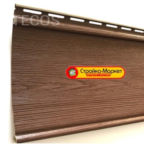 53254 Сайдинг Tecos LUX «Облицовочная доска» — Бразильская вишня