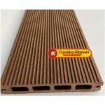 53352 Террасная доска Decking-DPK «Standart» — Velvet односторонняя — Шоколад