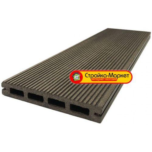53355 Террасная доска Decking-DPK «Standart» — Velvet односторонняя — Венге